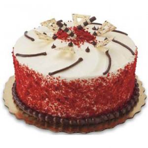 Red Velvet Cherish Cake - Send Red Velvet Cakes Online