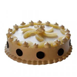 Pineapple Relish Cake 1kg - Birthday Cake Online Delivery - Send Eggless Cakes Online