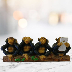 Four Wise Monkey - Send Gifts to Zirakpur
