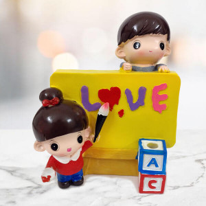 Love Pen Stand Statue - Send Gifts to Zirakpur