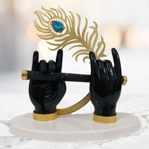 Statue of Krishna Hands with Morpankh - Send Gifts to Mohali