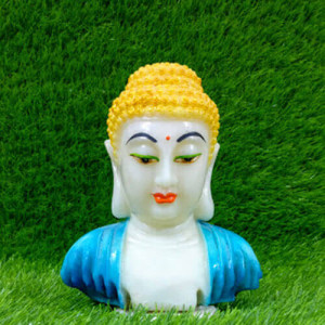 White Light Blue Look Buddha - Pinjore