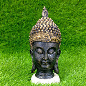 Buddha Head Medium Showpiece - Pinjore