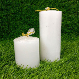 Pair Pillar Candles - Pinjore