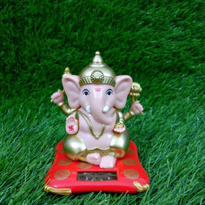 Beautiful Solar Lord Ganesh Ji - Send Gifts to Mohali