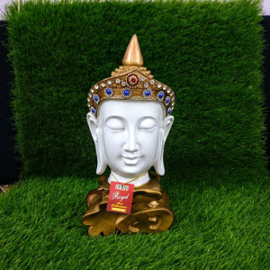 Royal Look Buddha Head - Send Gifts to Mohali