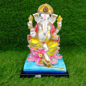 Large Ganesh Ji Idol - Send Gifts to Mohali