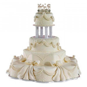 Multi Tier Wedding Loved Cake - Send Party Cakes Online