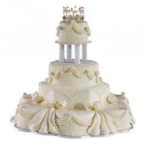 Multi Tier Wedding Loved Cake - Send Wedding Cakes Online