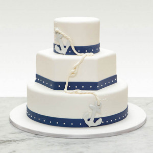 3 Tier Creamy Cake - Send Party Cakes Online