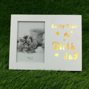 Birthday LED Photo Frame - Rakhi Gifts for Sister Onilne