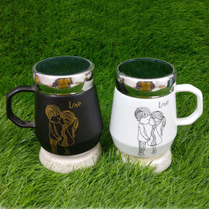 Unique Love Ceramic Mug - Pinjore
