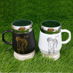 Unique Love Ceramic Mug - Send Gifts to Mohali