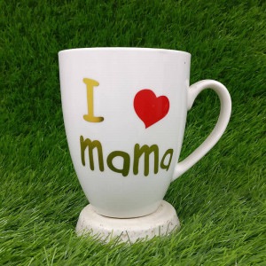 I Love Mama Ceramic Mug - Send Gifts to Mohali
