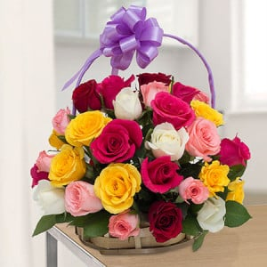 Special Celebration - Flower Basket Arrangements Online