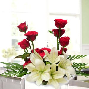 Elegance - Flower Basket Arrangements Online