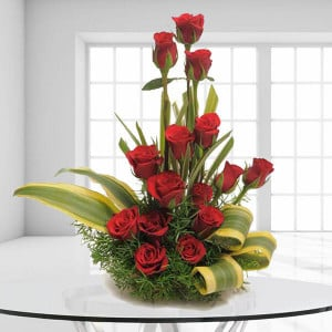The Sweet Surprises - Flower Basket Arrangements Online