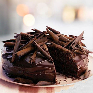 Online Chocolate Truffle Dark Cake - Send Mother's Day Cakes Online