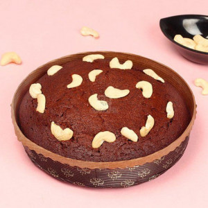 Round Shape plum Cake - Send Party Cakes Online