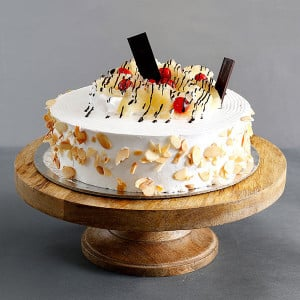 Online Butter Scotch Cake 1kg - Online Cake Delivery In Ludhiana