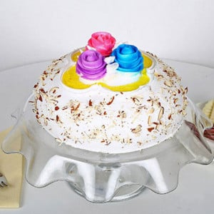 1kg Italian Almond Cake - Birthday Cake Delivery in Noida