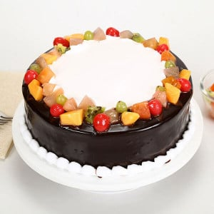 Wild Forest Cake - Send Party Cakes Online
