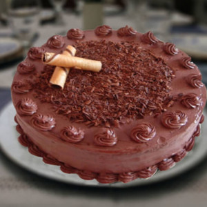 1kg Chocolate Cake - Send Cakes to Sonipat