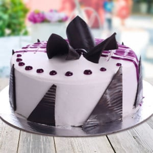 Blueberry Cake - Birthday Cakes for Her