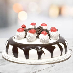 Blackforest Cake 1 Kg Online - 1st Birthday Cakes