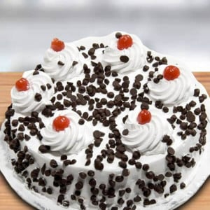 Joyful Black-forest Cake - Send Mother's Day Cakes Online