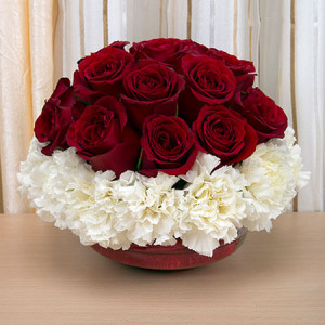 24 Seasonal Flowers - Send flowers to Ahmedabad