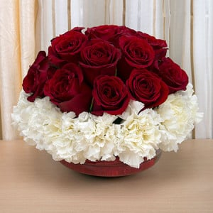 24 Seasonal Flowers - Send Gifts to Noida Online