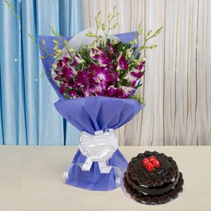 Something Special For You - Flowers and Cake Online