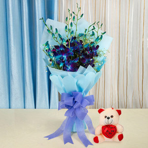 Someone Special - Flowers with Soft Toys online