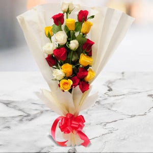 Bright n Brimming - Send Flowers to Ludhiana