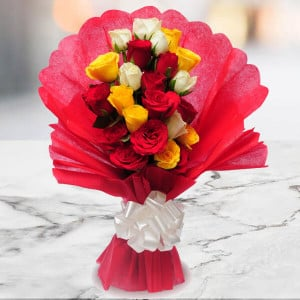 Charming Beauty - Online Flowers Delivery in Zirakpur