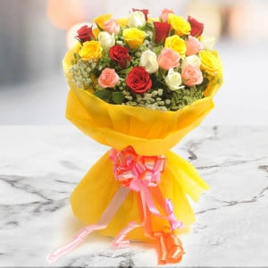 Bright Mix - Send Flowers to Ludhiana