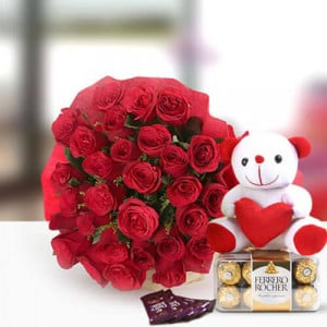 Perfect N Lovely - Anniversary Flowers Online