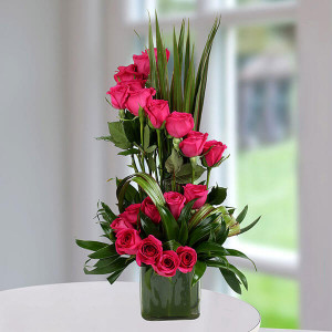Pink Rose Delight - Online Flower Delivery in Gurgaon