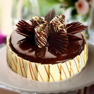 Marble Cake Black - Birthday Cake Delivery in Noida