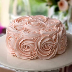 Chocolate Flower Cake - Send Wedding Cakes Online