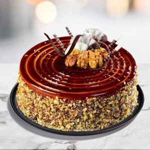 Coffee Walnut Cake - Birthday Cake Delivery in Noida