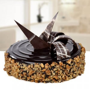 Chocolate Walnut Truffle 1kg - Send Chocolate Truffle Cakes Online