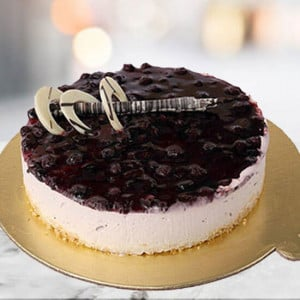 Blueberry Cheese Cake - Birthday Cakes for Her