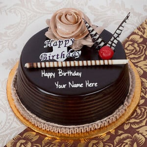 Choco Celebration Cake Half Kg - Online Cake Delivery in India