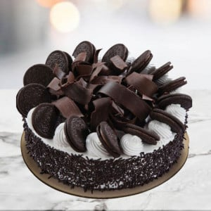 Chocolate Oreo Cake 1kg - Online Cake Delivery in Delhi