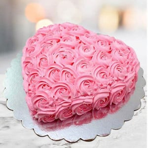 Creamy Strawberry Cake - Online Cake Delivery In Dera Bassi