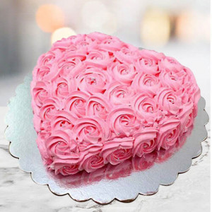 Creamy Strawberry Cake - Online Cake Delivery In Pinjore