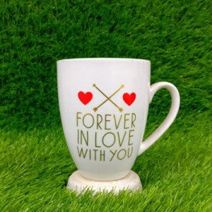 Forever in Love Ceramic Mug - Send Gifts to Mohali