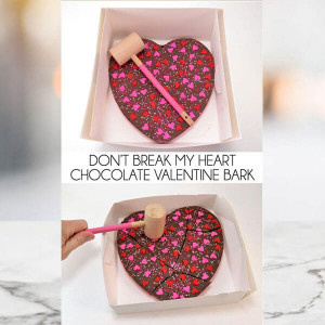 Valentine Chocolate Bar - Send Gifts to Mohali